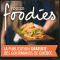 Badge Fou des foodies